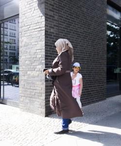 muslimin mit kind